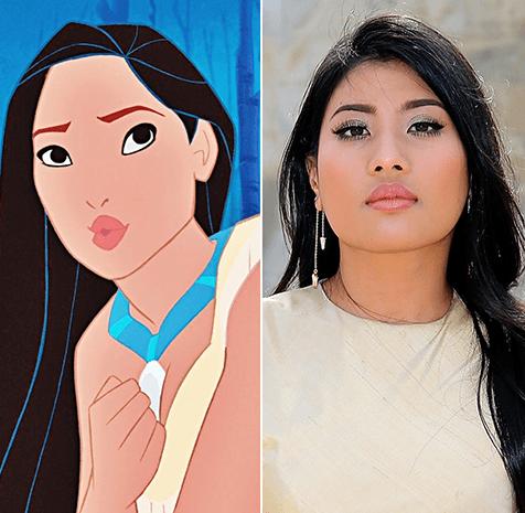 بوكاهونتاس - أميرة ناريراتانا - تايلاند