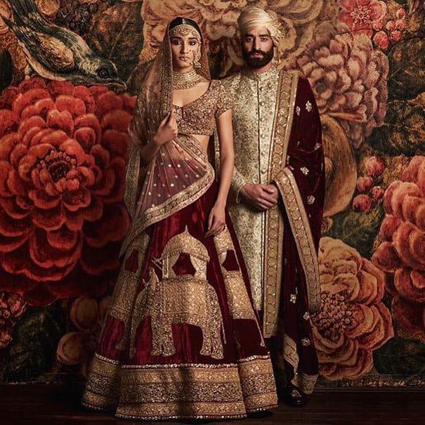 لباس العروس في الهند