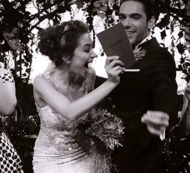 زفاف أبطال مسلسل فاتح حربية