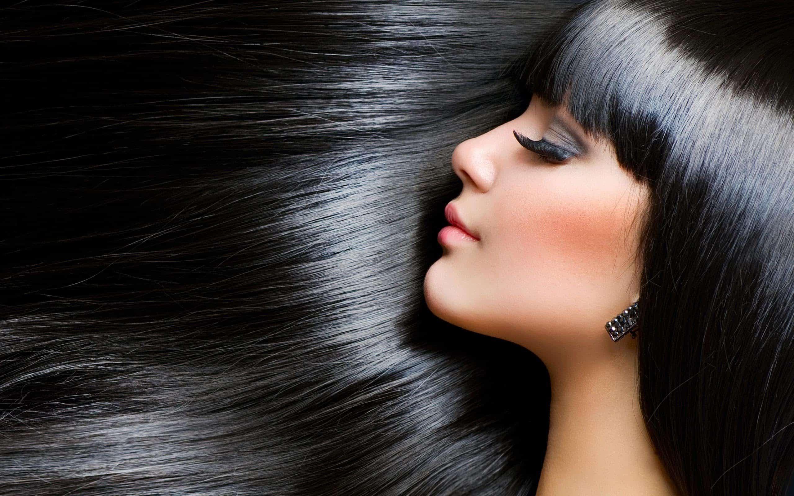 الشعر الأسود