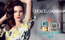 ماكياج صيفي مشرق بلمسات إيطالية من Dolce & Gabbana