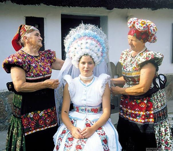 لباس العروس في المجر