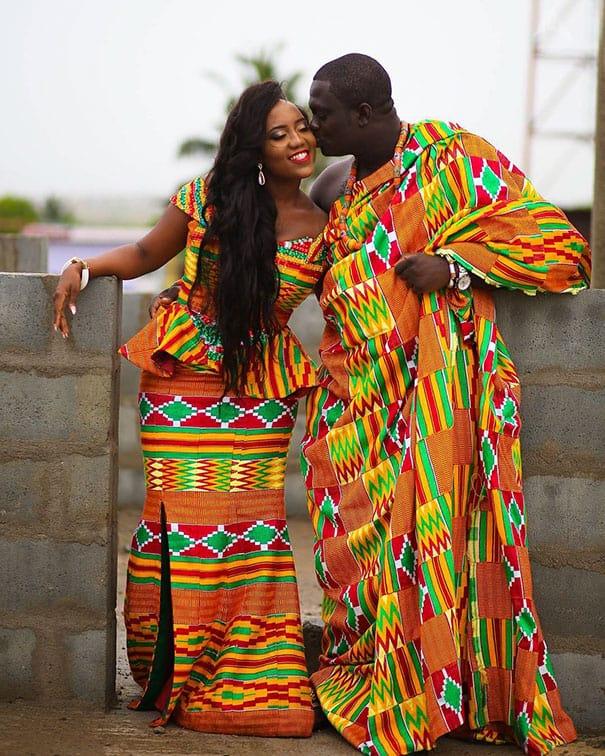 لباس العروس في غانا