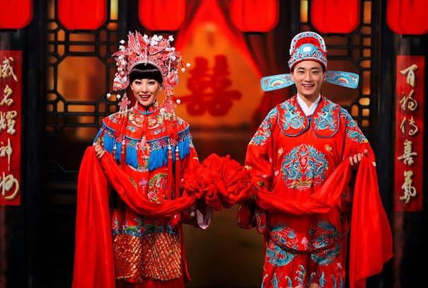 لباس العروس في الصين