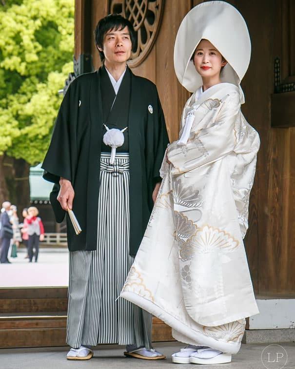 لباس العروس في اليابان
