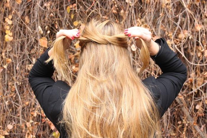 خطوات تسريحة شعر للشعر الطويل