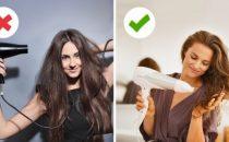 تجنبي هذه الأخطاء للحصول على شعر جميل وصحي