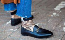 كيف تنسقين حذاء الـ Loafer المسطح لهذا الخريف