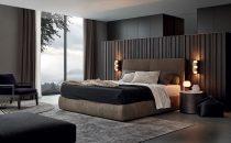 بالصور: الرمادي ملك ألوان غرف النوم العصرية