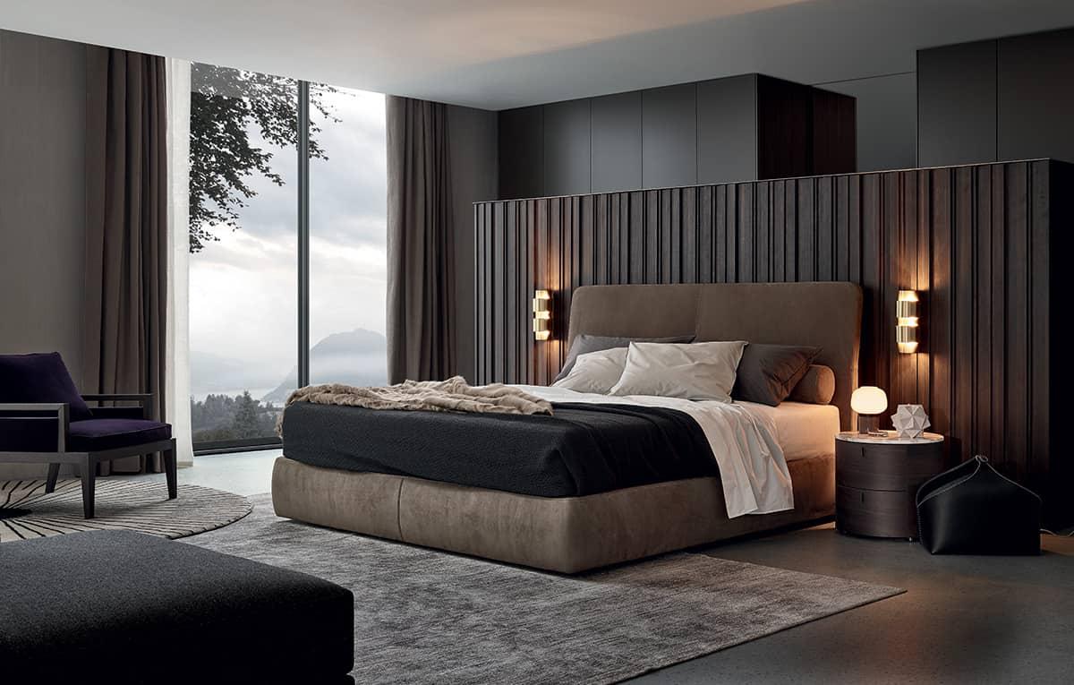 بالصور: الرمادي ملك ألوان غرف النوم العصرية | مجلة سيدات الامارات