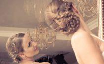 بالصور: تسريحات الضفائر للعروس