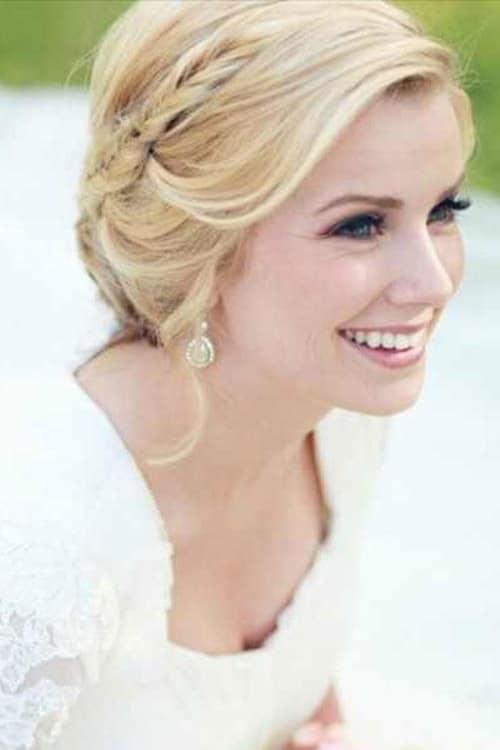 احدث موضه تسريحات شعر للعروسة