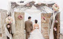 أجمل ديكورات حفل الزفاف  البسيط والجميلة جدًا في الهواء الطلق