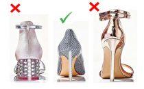 تعرفي على حذاء الكعب العالي المناسب لقدمك مع هذه العملية الحسابية البسيطة