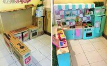 كيف تصنعين أجمل مساحة للعب طفلتك دون أي تكاليف