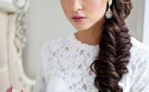 بالصور: أكثر من 20 تسريحة للعروس بالضفائر