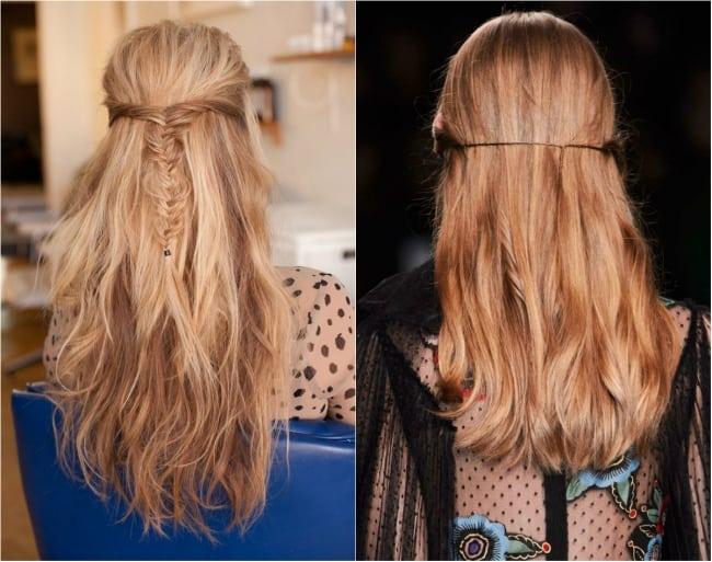 تسريحات شعر بسيطة وسهلة