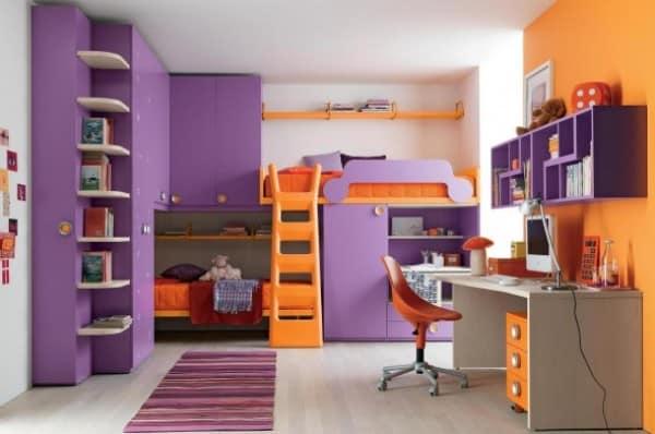 أحدث تصاميم غرف الأطفال