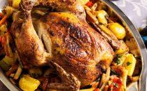 أسهل وأشهى وصفة دجاج محشي بالأرز