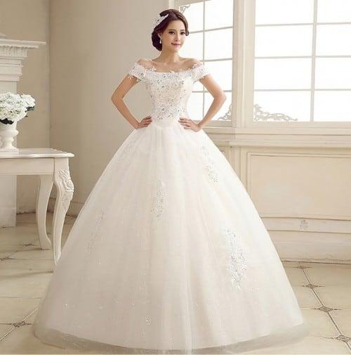 a630a1b9efc3f شاهدي أجمل تصاميم فساتين الزفاف لعام 2017