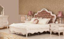 غرف نوم بإطلالة ناعمة مع قماش الساتان