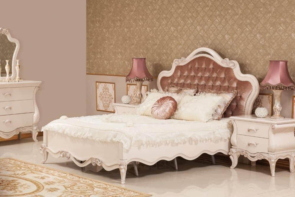 غرف نوم بإطلالة ناعمة مع قماش الساتان | مجلة سيدات الامارات