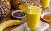 عصير الأناناس والشيا للتخلص من الوزن الزائد