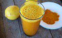 شراب الكركم والليمون للتخلص من الوزن الزائد