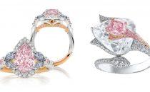 خواتم الماس الوردي.. فخامة أنثوية ساحرة