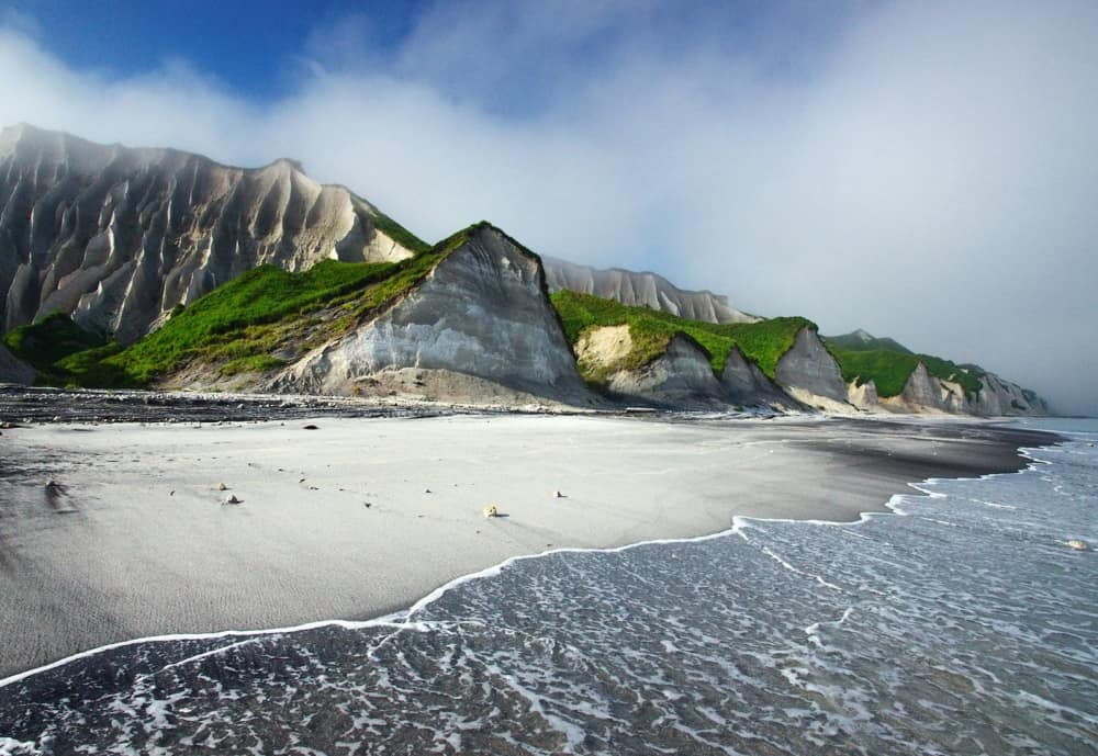 الشواطئ البيضاء في روسيا