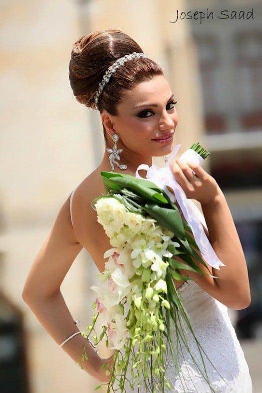 أحدث أشكال بوكيه ورد العروسة