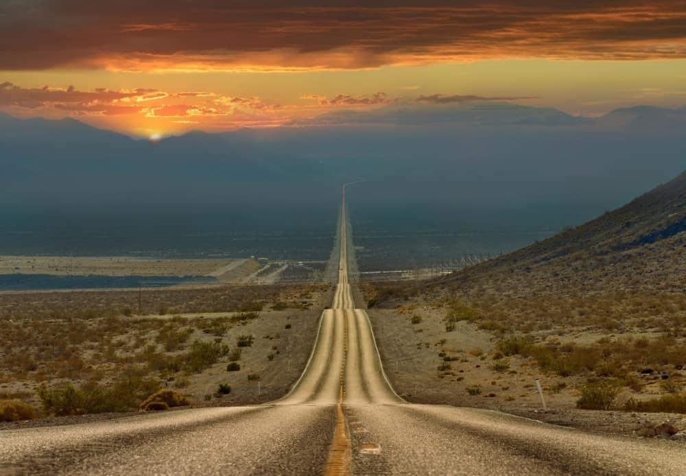 وادي الموت في الولايات المتحدة