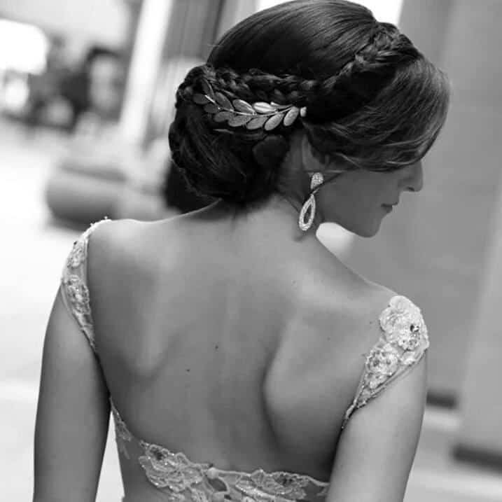 أحدث موضة أكسسوارات تسريحات شعر للعرائس