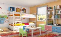 تعرفي على أجمل تصاميم غرف النوم المشتركة للأطفال