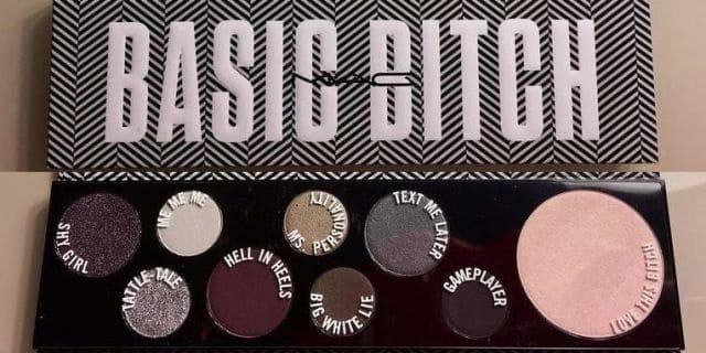شركة ماك تطلق لوحة ظلال عيون Basic Bitch