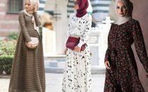 للمحجبات: تألقي بموضة الفساتين المزخرفة