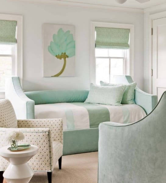 Bedroom Mint Green Wall Scheme In Toddler Boys Bedroom: بالصور: ديكورات غرف نوم بألوان الباستيل الهادئة