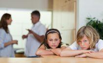 تأثير التفكك الأسري على الأطفال