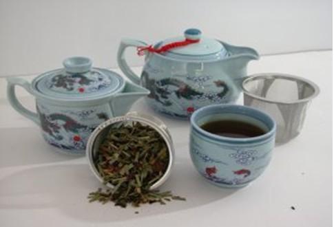 فوائد الشاي الأزرق