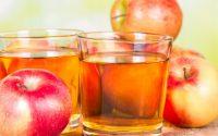 بلسم التفاح والخل للعناية بالشعر الجاف