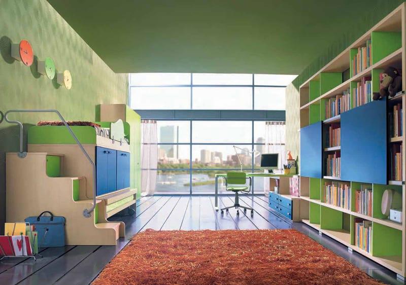 تصاميم غرف النوم للأطفال