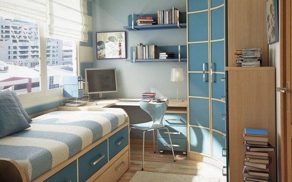 غرف نوم أنيقة للأطفال تناسب المساحات الضيقة