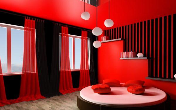 بالصور: غرف نوم بألوان جريئة