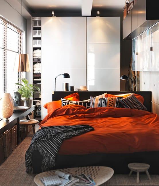 تصميمات عملية لغرف نوم رومنسية