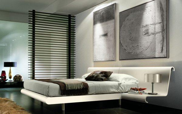 تصميمات أنيقة لغرف النوم الإيطالية