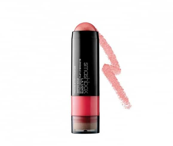 Smashbox L.A. Lights Lip & Cheek Color in Peachy Pink with Golden Shimmer