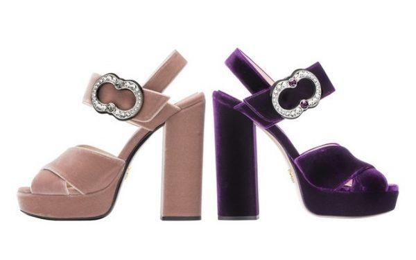 حصريا للشرق الأوسط: مجموعة أحذية نسائية من برادا