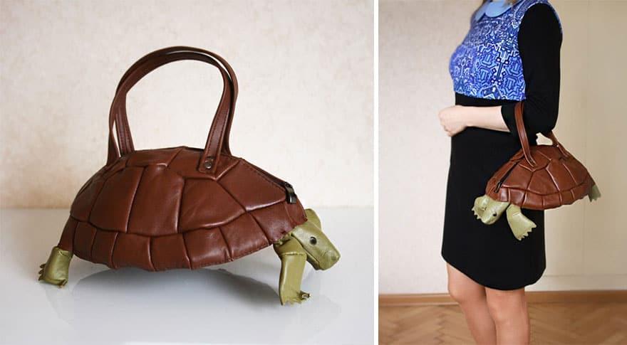 حقائب بتصاميم غريبة