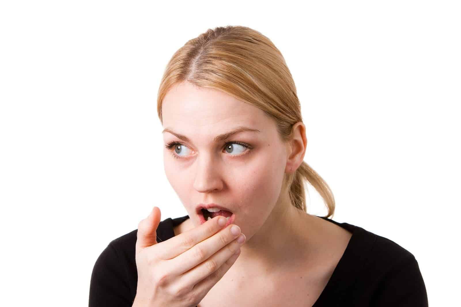 رائحة الفم الكريهة خلال شهر رمضان