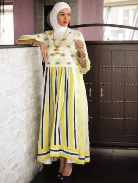 للمحجبات: موضة الفساتين الواسعة